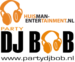 Logo Huisman-Entertainment en Party DJ Bob